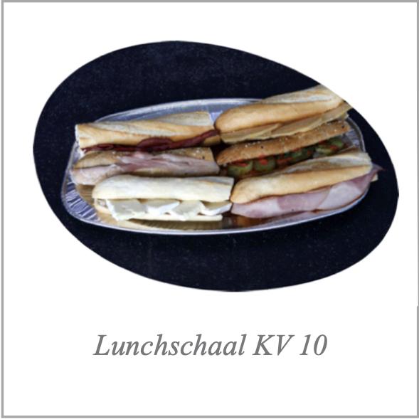 Lunchschaal KV 10