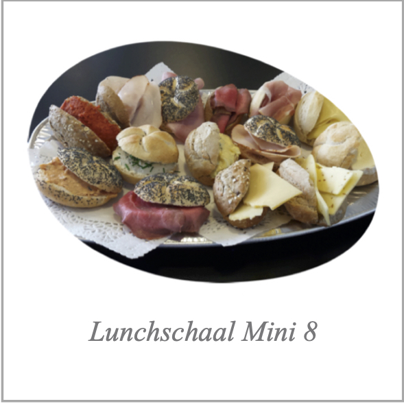Lunchschaal Mini 8